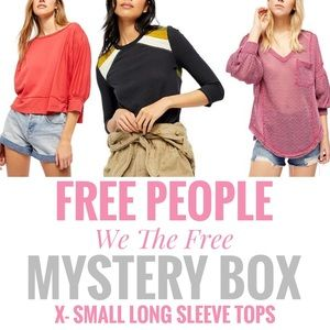🇺🇸 Free People We The Free Long Sleeve Mystery